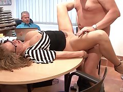Mature gets a double dose at the office