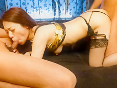 Amazing Japanese whore Ann Yabuki in Hottest JAV uncensored Blowjob clip