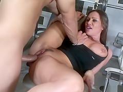 Horny pornstar Sky Taylor in best big tits, facial porn video
