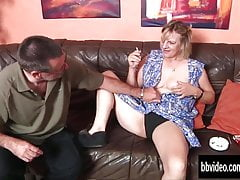 Bi german milfs share dick