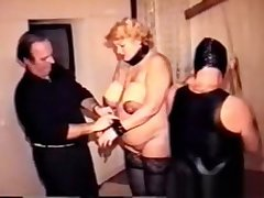 I am Pierced Vintage BDSM underling granny Pussy nips piercings