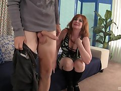 Freya Fantasia gets fucked by distinct friend's penis while she moans