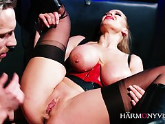 Harmonyvision - big-bosomed mother i´d like to fuck gets bound together with shafted - aaliyah grey