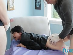 Dana Vespoli submissive anal fantasy with 2 strangers fucking will not hear of deep in will not hear of tight ass