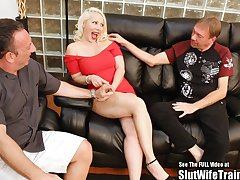 Heavy Tit Russian Fair-haired Wifey Fucked