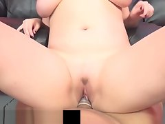 Busty Maggie Untried Gets Say no to Pussy Pounded By Big Black Cock!
