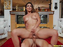Porn doll sucks and rides in the air incredible XXX scenes