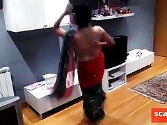 chap-fallen nepali girl dancing