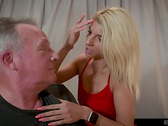 Older cadger got unintended and banged attractive bazaar Missy Luv