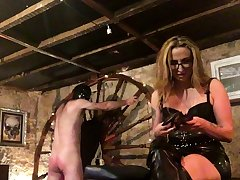 More Fun With Spanky bdsm bondage slave femdom embrace b influence