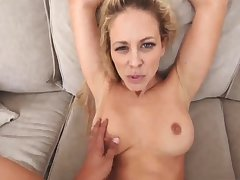 White tramp milf Cherie Deville in Impregnated By My