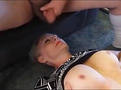 Horny Older wife is waiting for will not hear of daily facial