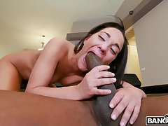 Amara Romani takes a monster cock in her