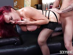 Mature soaks giant dick purchase her pussy and ass