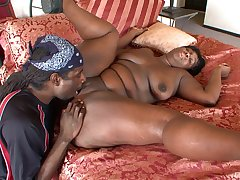 Aware drilling for a thick BBW in love with the BBC