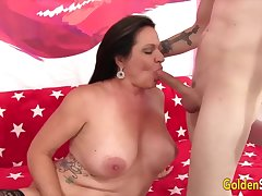 Auric Slut - Matured Beauties Give Staggering Blowjobs Compilation