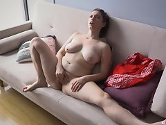 Chubby MILF Flimsy And Sensual Masturbation