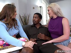 Step ma joins the fun and shares the BBC with the step daughter
