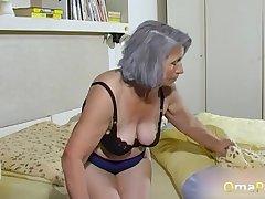 OmaPasS Amateur Grandmas Toying Victorian Pussies
