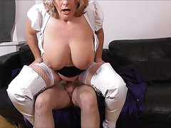 Camilla Fucks on an obstacle Sofa in White Scullion Promo
