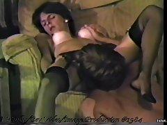 Retro MILF hardcore old porn flick