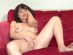 Lucy Masturbates To Her Husbands Secret Porn Mag