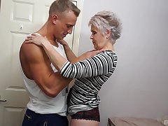 Granny Lady Sextacy has not out of the window how to mouth a cock