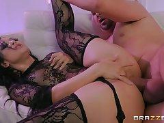 Wrapped Up Sex-bomb Katrina Jade Sodomized