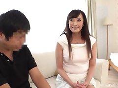 Cute Asian lady Otowa Ayako fucks on touching sweet sensuality
