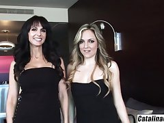 Lexi Fancy shares everything with girlfriend Catalina Cruz