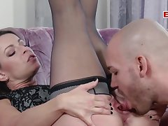 Hot german amateur milf fuck with  pair